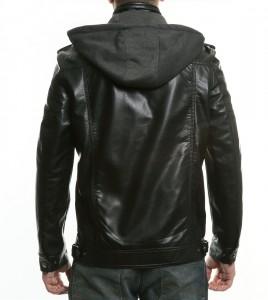 asymmetry boyner siyah deri çeket kapşonlu 268x300 Boyner Deri Ceket