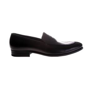deriden-robertocavalli-siyah-klasik-deri-ayakkabi