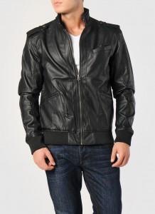 t box siyah mont 218x300 Boyner Deri Ceket